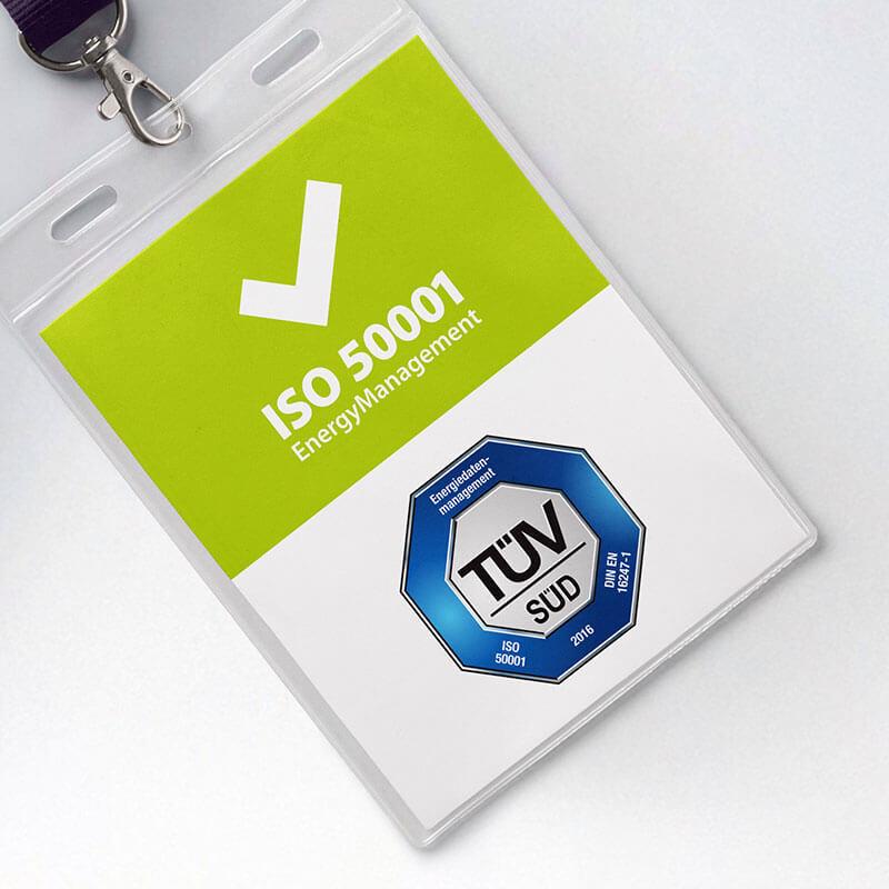 TÜV-zertifiziert für ISO 50001 und über BAFA förderfähig | Energiemanagementsystem ISO 50001 visual energy