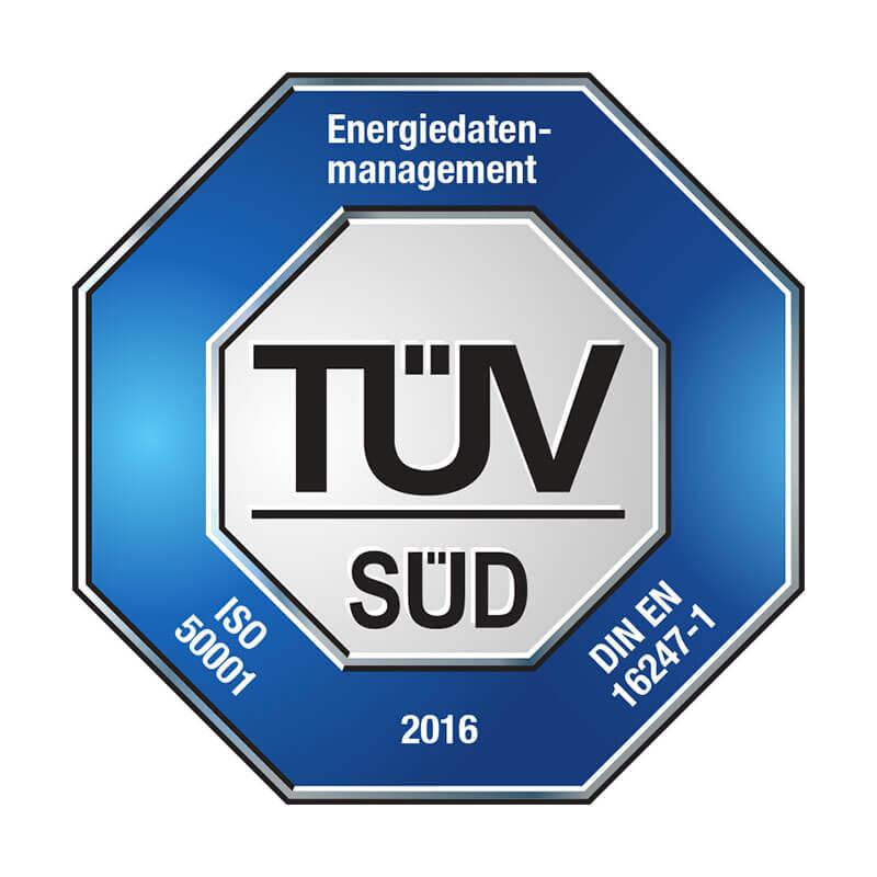 Galeriebild Sicherheit: visual energy ist TÜV-zertifiziert für ISO 50001 und BAFA förderfähig | Energiemanagement Software visual energy